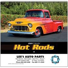 Cover of Hot Rods 2021 Calendar