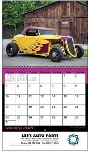 Hot Rods 2021 Calendar