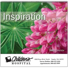 Cover of Inspiration 2021 Calendar