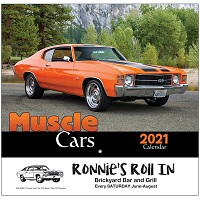 Cover of Muscle Cars 2021 Calendar