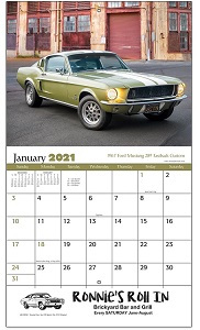 Muscle Cars 2021 Calendar
