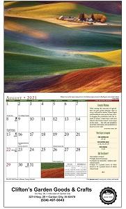 Old Farmers Almanac Country 2021 Calendar