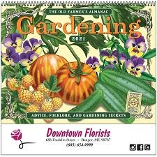 Cover of Old Farmers Almanac Gardening 2021 Calendar