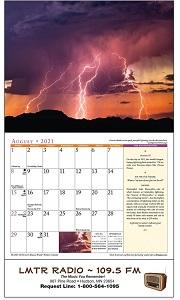 Old Farmers Almanac Weather Watchers 2021 Calendar