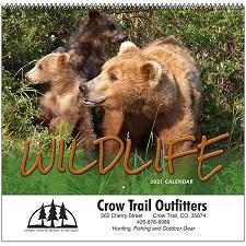 Cover of Wildlife 2021 Calendar
