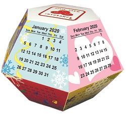 Pop Up Calendar