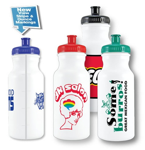 20 oz Bike Bottles