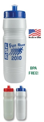 26 oz Value Sports Bottle with Push/Pull Lid