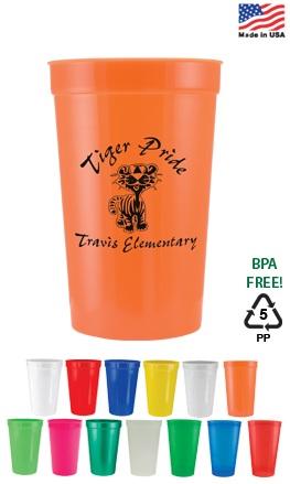 16 oz Custom Printed Stadium Cup