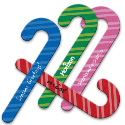Candy Cane Emery Boards