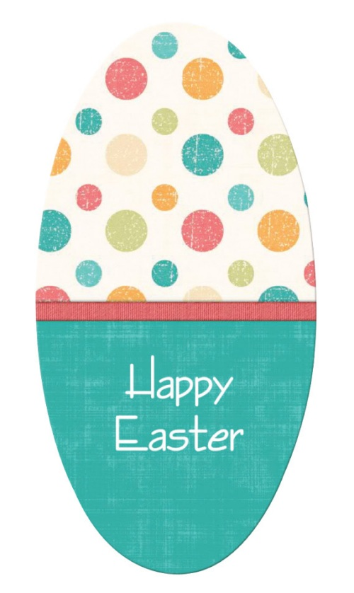 Easter Egg Emery Boards