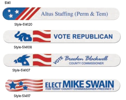 Political Design Emery Boards