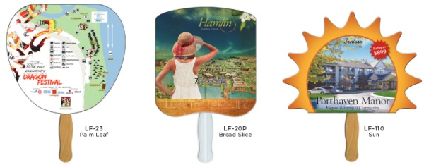 Low Cost Full Color Fan Samples