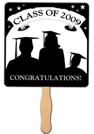 Graduation Class Hand Fan