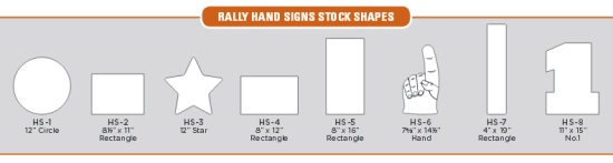 Hand Sign Shapes