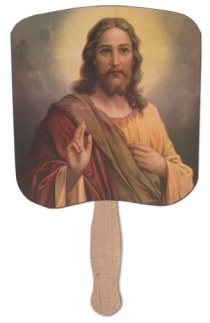 Abide in Me Heavy Duty Church Fan