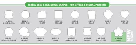Mini Fan Stock Shapes