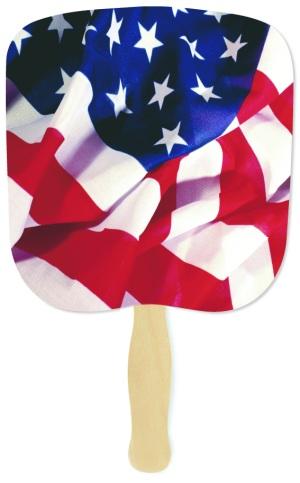 Patriotic Flag Handheld Fan