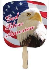 God Bless America Patriotic Fan