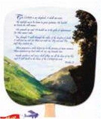 23rd Psalm Church Fan