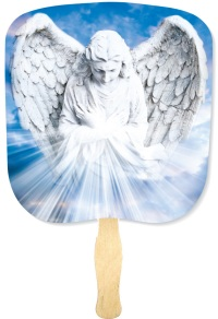 Angel Religious Church Fan