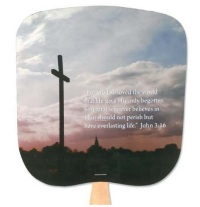 John 3:16 Religious Church Fan