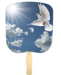 Peace Religious Church Fan