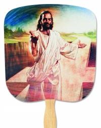 I Am The Way Religious Church Fan