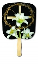 Easter Holiday Religious Hand Fan