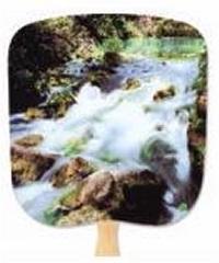 Cascade Scenic Hand Fan