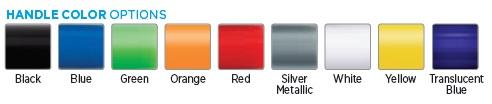 Handle Color Options for Pocket Screwdrivers